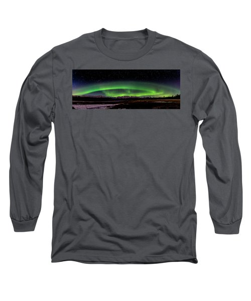 Aurora Spiral Long Sleeve T-Shirt
