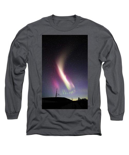 Auroral Phenomonen Called Steve 1 Long Sleeve T-Shirt