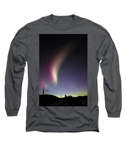Auroral Phenomonen Known As Steve 2 Long Sleeve T-Shirt