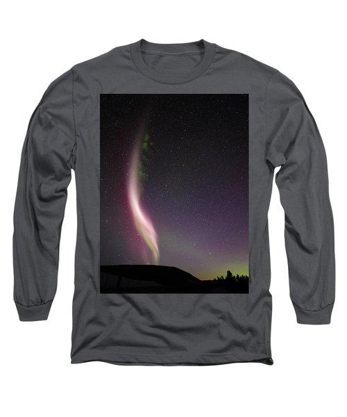 Auroral Phenomonen Known As Steve, 7 Long Sleeve T-Shirt