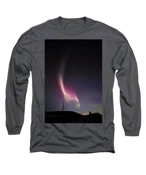 Auroral Phenomonen Knows As Steve, 4 Long Sleeve T-Shirt