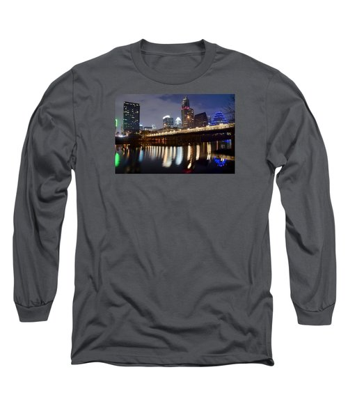 Austin From Below Long Sleeve T-Shirt by Frozen in Time Fine Art Photography