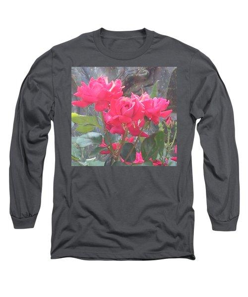 Austin Roses Long Sleeve T-Shirt