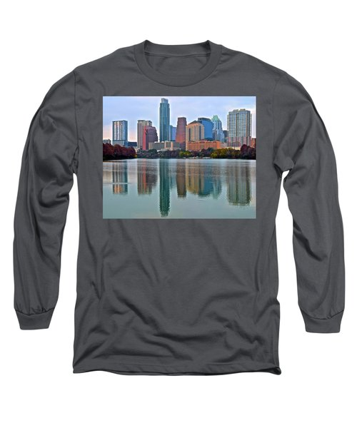 Austin Shimmer  Long Sleeve T-Shirt by Frozen in Time Fine Art Photography