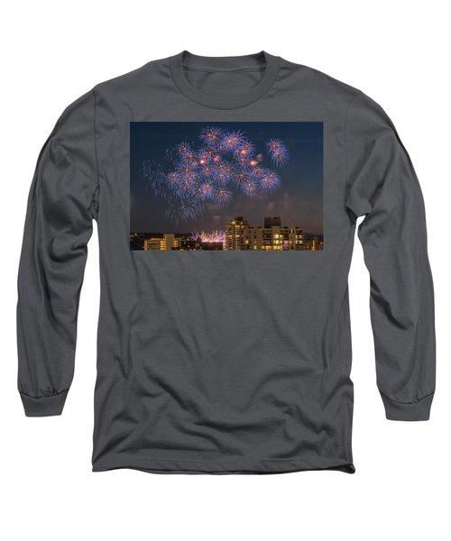 Australia 3 Long Sleeve T-Shirt by Ross G Strachan