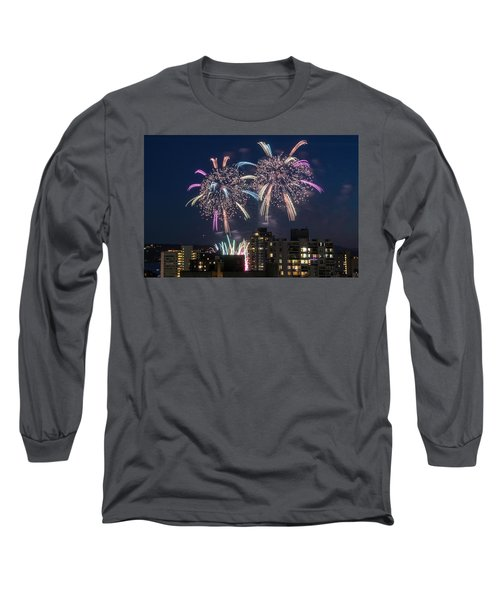 Australia 4 Long Sleeve T-Shirt by Ross G Strachan