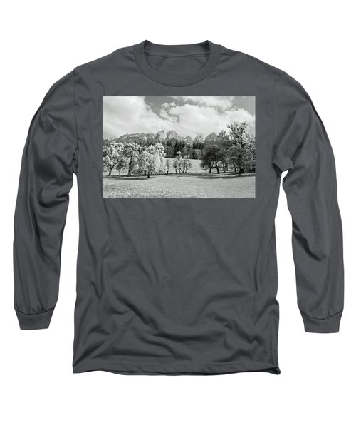 Long Sleeve T-Shirt featuring the photograph Austrian Landscape by Brooke T Ryan