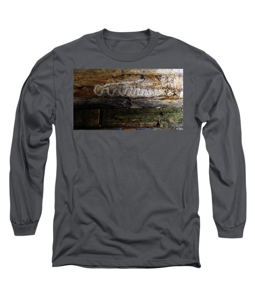 Autograph Of A Cold Blooded Killer Long Sleeve T-Shirt