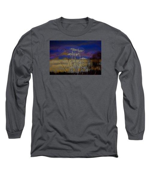 Autumn Abstract  Long Sleeve T-Shirt by Leif Sohlman
