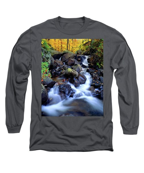 Autumn Cascade Long Sleeve T-Shirt