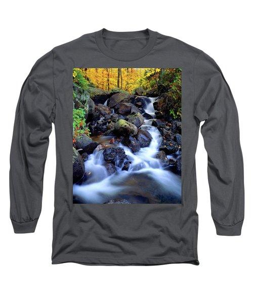 Autumn Cascade Long Sleeve T-Shirt