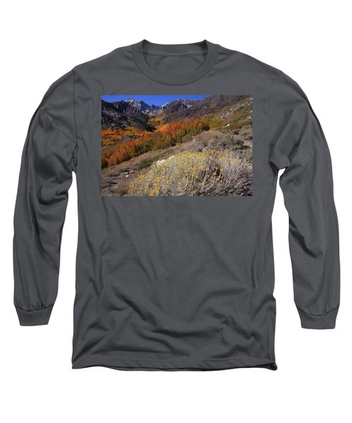 Autumn Colors At Mcgee Creek Canyon In The Eastern Sierras Long Sleeve T-Shirt