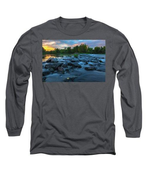 Autumn Comes Long Sleeve T-Shirt