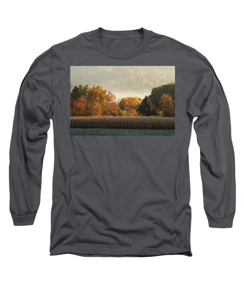 Autumn Cornfield Long Sleeve T-Shirt
