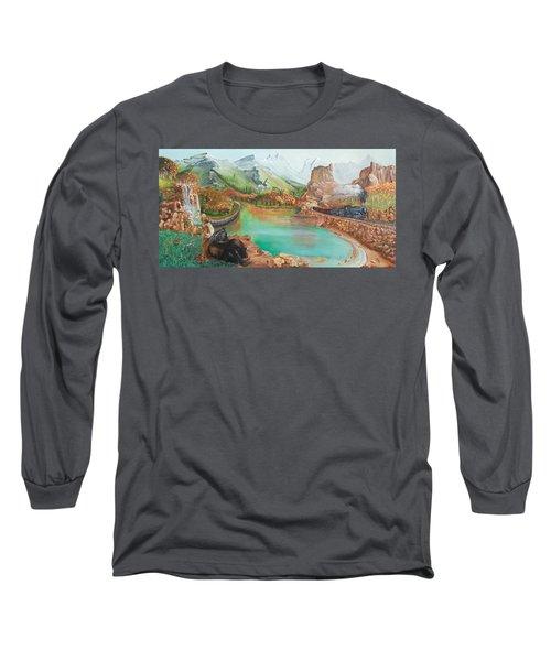Autumn Long Sleeve T-Shirt by Farzali Babekhan