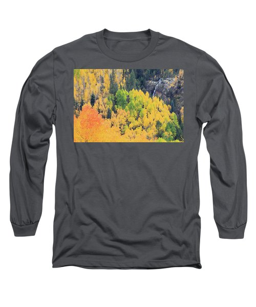 Autumn Glory Long Sleeve T-Shirt by David Chandler
