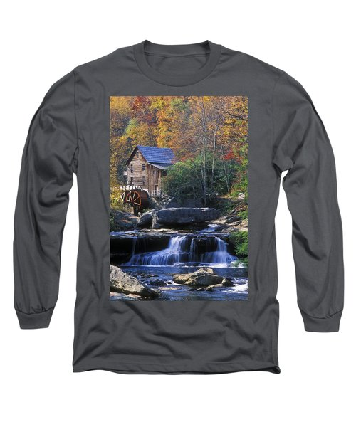 Autumn Grist Mill - Fs000141 Long Sleeve T-Shirt