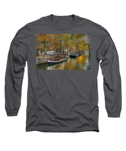 Autumn In Amsterdam Long Sleeve T-Shirt