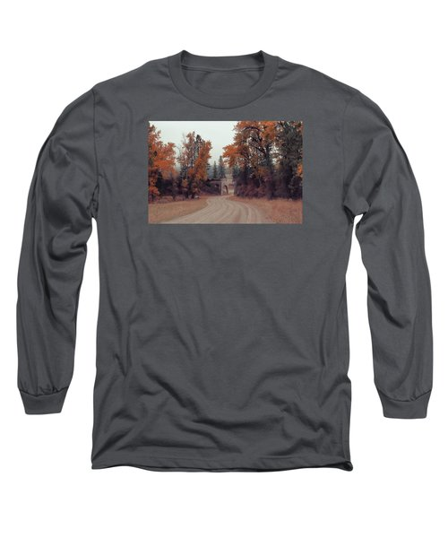 Autumn In Montana Long Sleeve T-Shirt by Cathy Anderson