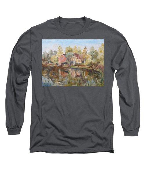 Autumn Lake Long Sleeve T-Shirt
