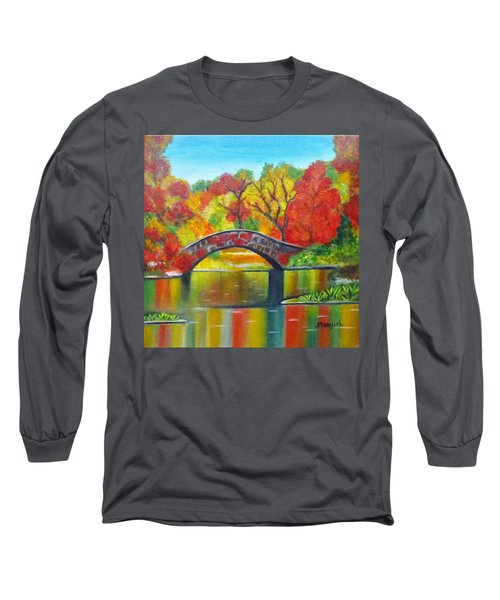 Autumn Landscape -colors Of Fall Long Sleeve T-Shirt