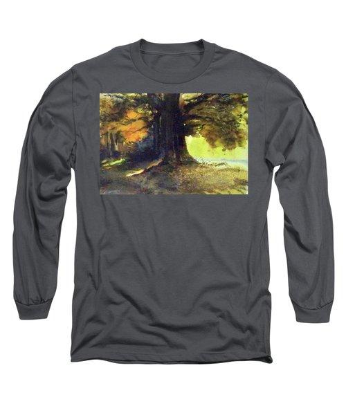 S'il Vou Plait Long Sleeve T-Shirt by Ed Heaton