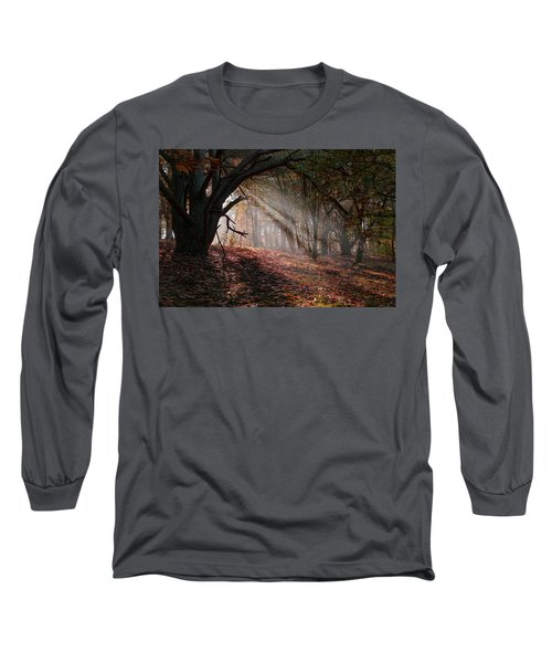 Long Sleeve T-Shirt featuring the photograph Autumn Light  by Scott Carruthers