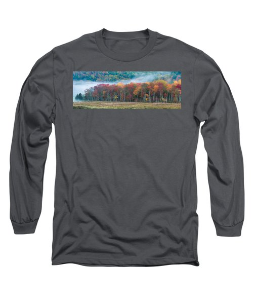 Autumn Morning Mist Long Sleeve T-Shirt