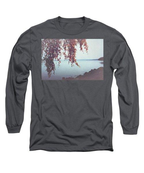 Long Sleeve T-Shirt featuring the photograph Autumn Shore by Ari Salmela