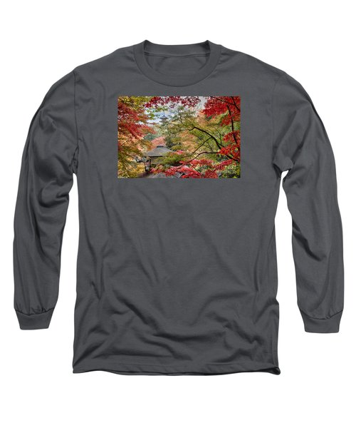 Long Sleeve T-Shirt featuring the photograph Autumn  by Tad Kanazaki