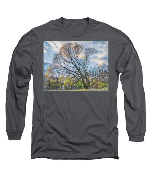 Long Sleeve T-Shirt featuring the photograph Autumn Tree by Vladimir Kholostykh