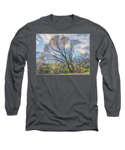 Autumn Tree Long Sleeve T-Shirt by Vladimir Kholostykh
