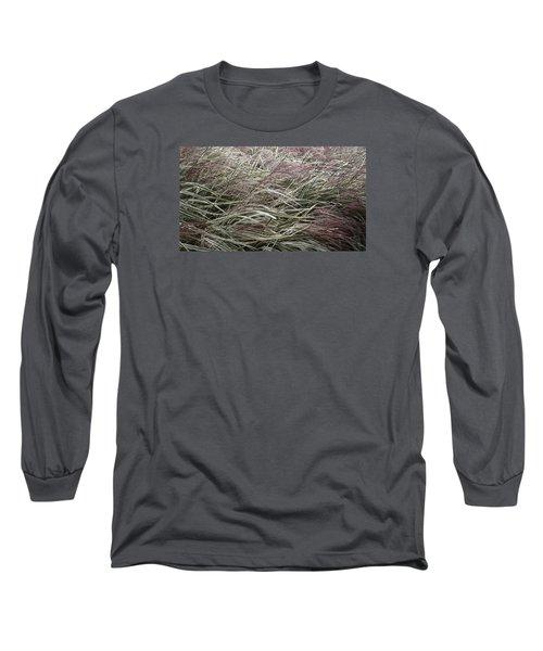Autumn's Stripes Long Sleeve T-Shirt by Tim Good