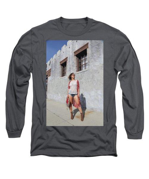 Ava Long Sleeve T-Shirt by Viktor Savchenko