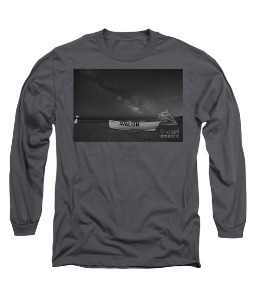 Avalon Milky Way Bw Long Sleeve T-Shirt