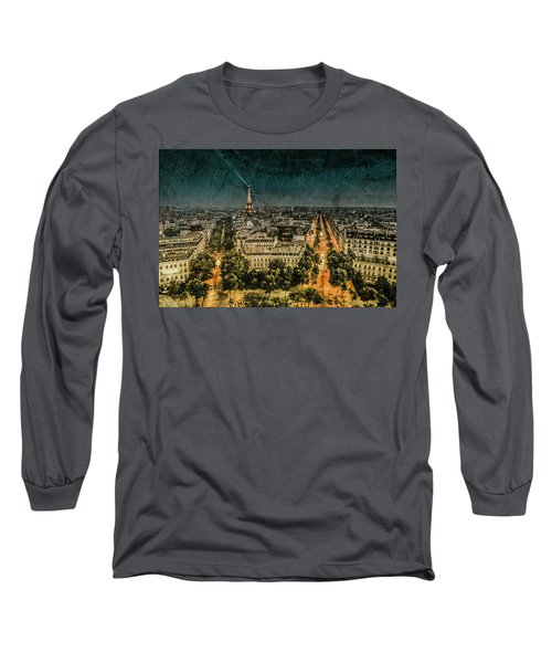 Paris, France - Avenue Kleber Long Sleeve T-Shirt