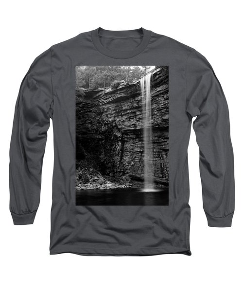 Awosting Falls In Spring #4 Long Sleeve T-Shirt by Jeff Severson