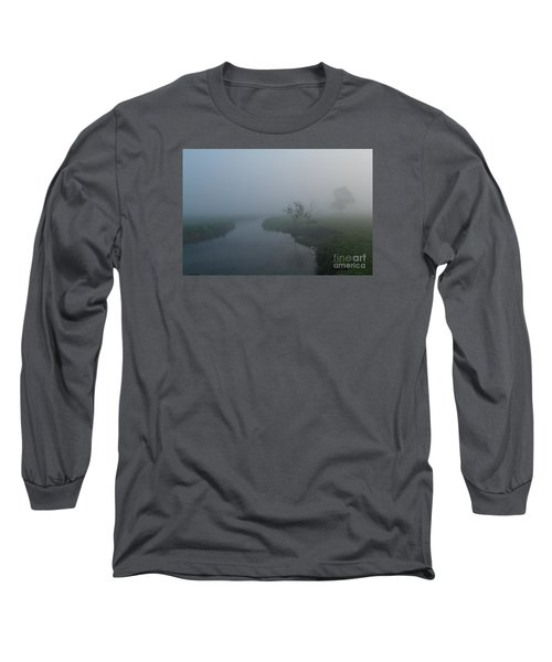 Long Sleeve T-Shirt featuring the photograph Axe In The Mist by Gary Bridger