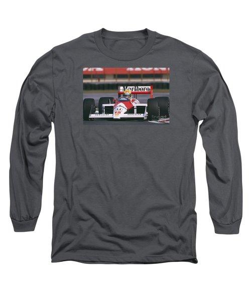 Ayrton Senna. 1988 Mexican Grand Prix Long Sleeve T-Shirt
