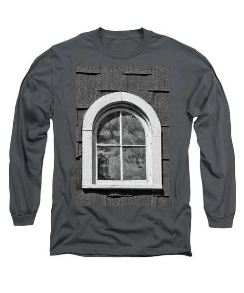 Long Sleeve T-Shirt featuring the photograph Babcock Window 2273 by Guy Whiteley