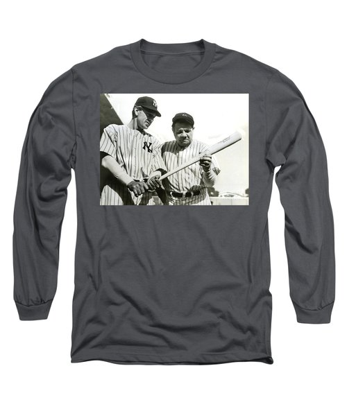 Babe Ruth And Lou Gehrig Long Sleeve T-Shirt