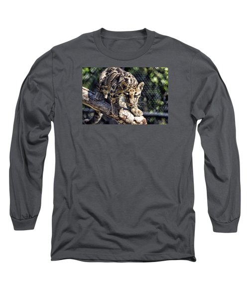 Baby Clouded Leopard Long Sleeve T-Shirt