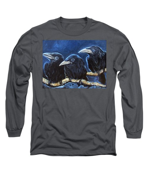 Baby Crows Long Sleeve T-Shirt