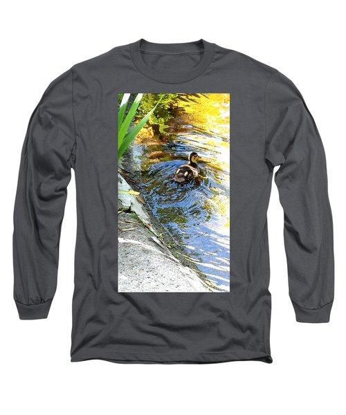 Baby Duck Long Sleeve T-Shirt