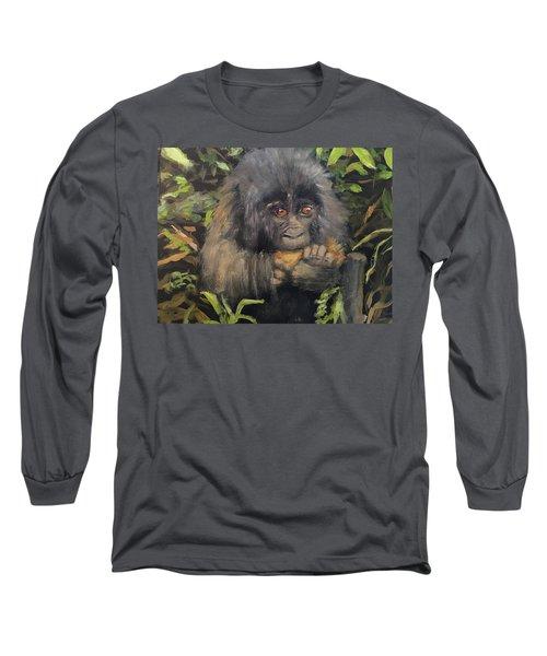 Baby Gorilla Long Sleeve T-Shirt