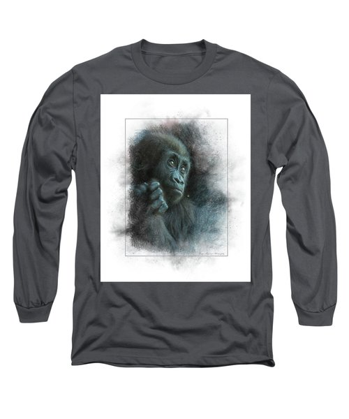 Baby Gorilla Long Sleeve T-Shirt