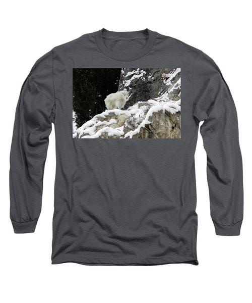 Baby Mountain Goat Long Sleeve T-Shirt