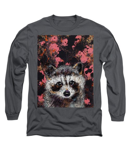 Baby Raccoon Long Sleeve T-Shirt