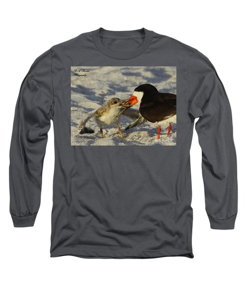 Baby Skimmer Feeding Long Sleeve T-Shirt