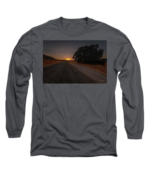 Back Road From Bradley Long Sleeve T-Shirt